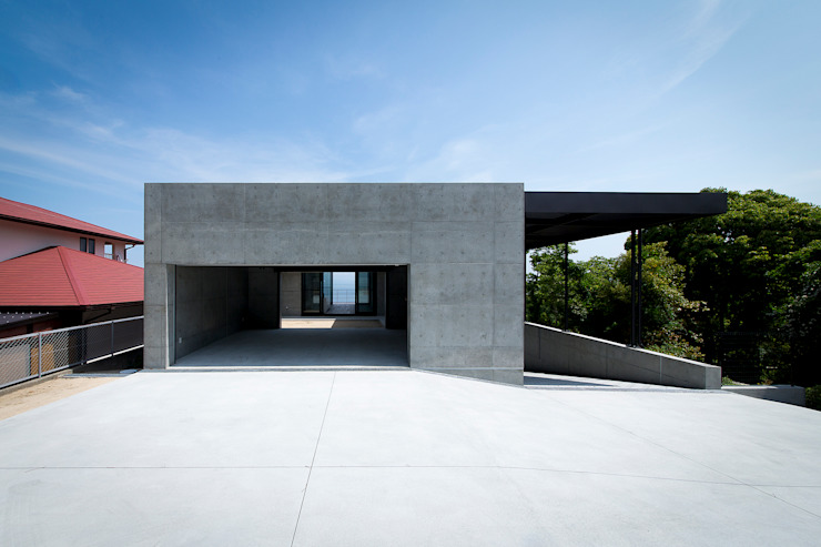 de ラブデザインホームズ/LOVE DESIGN HOMES Ecléctico Concreto reforzado