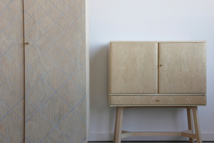 Proper objects make proper people: modern  door Studio Op Poten, Modern
