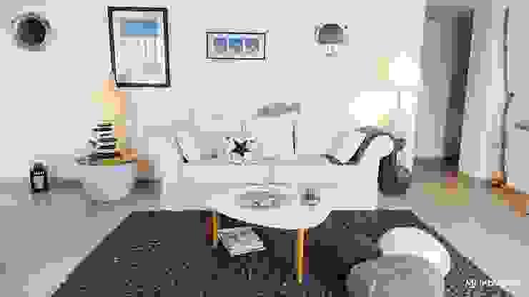 Casas modernas: Ideas, imágenes y decoración de MJ Intérieurs Moderno
