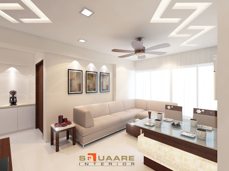Upcoming project in Mumbai: modern  by Squaare Interior,Modern