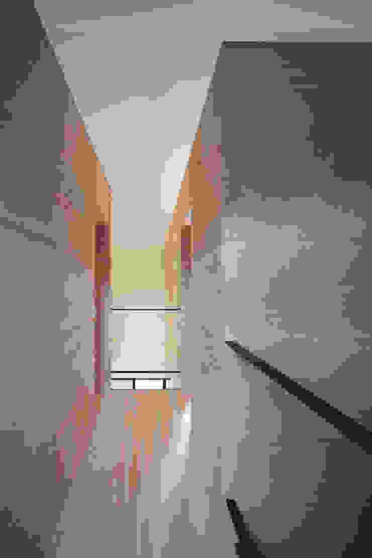 廊下 ミニマルスタイルの 玄関&廊下&階段 の 川添純一郎建築設計事務所 ミニマル