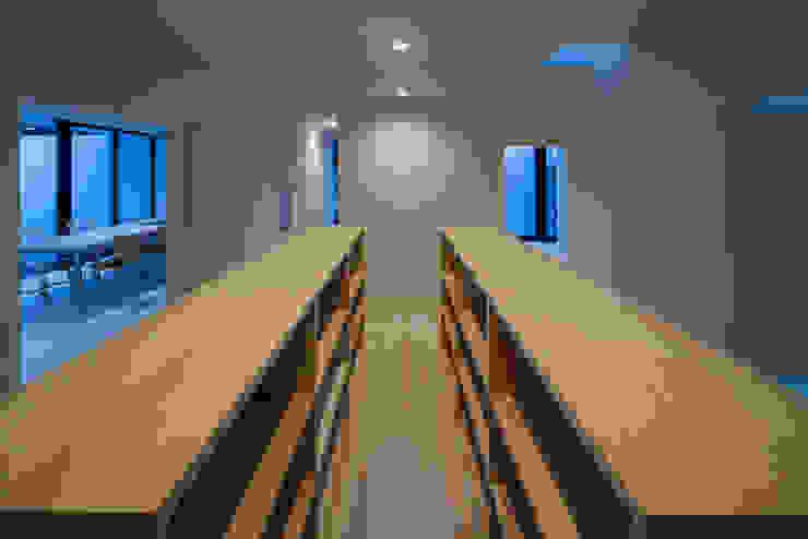 フリースペース夜景 ミニマルな 家 の 川添純一郎建築設計事務所 ミニマル