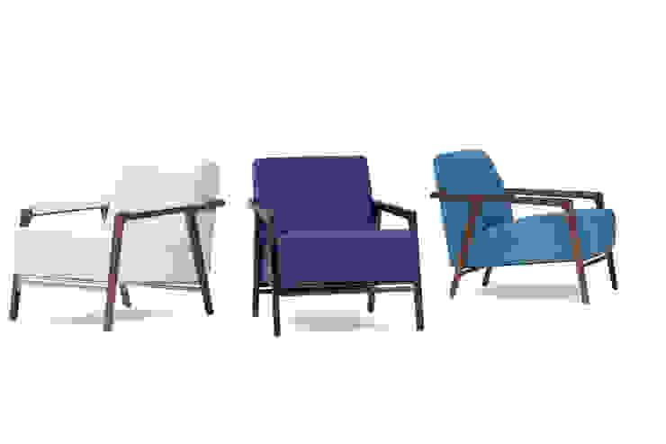 Splinter fauteuil: modern  door Harvink, Modern