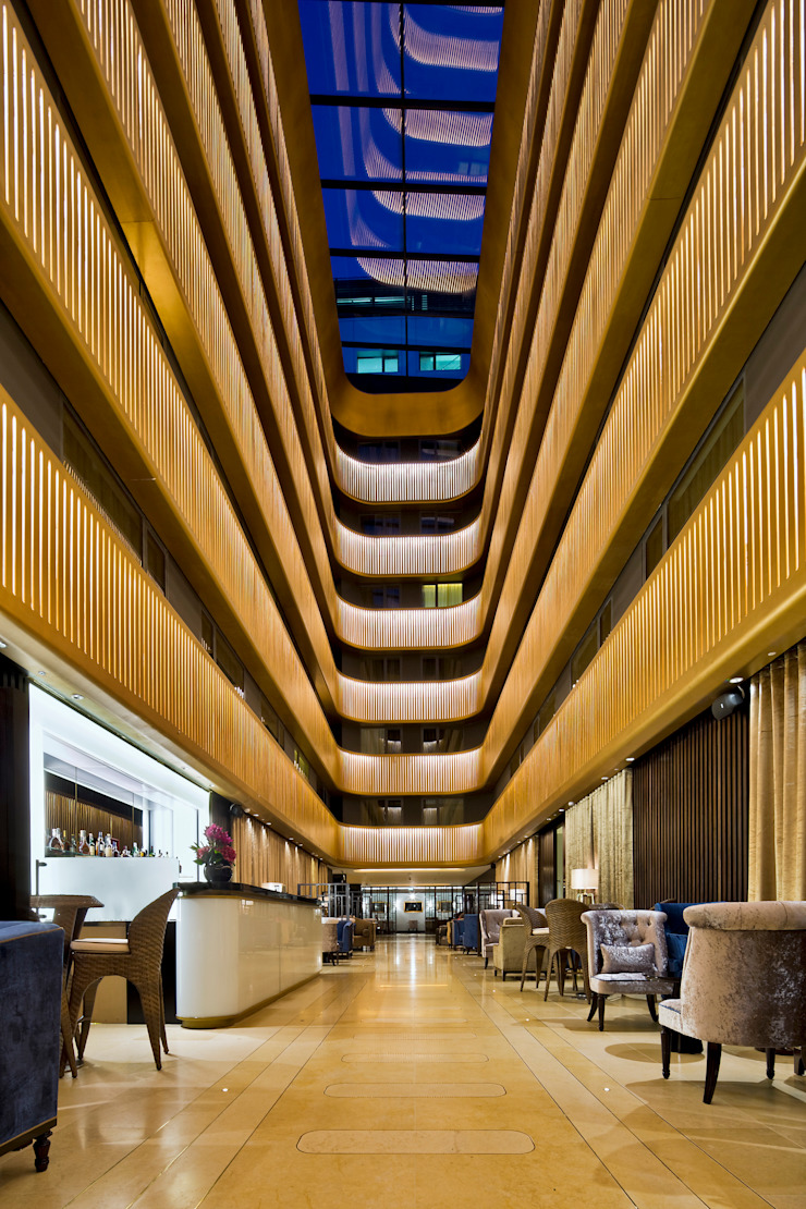 Shepherds Bush Pavilion Modern hotels by Flanagan Lawrence Modern