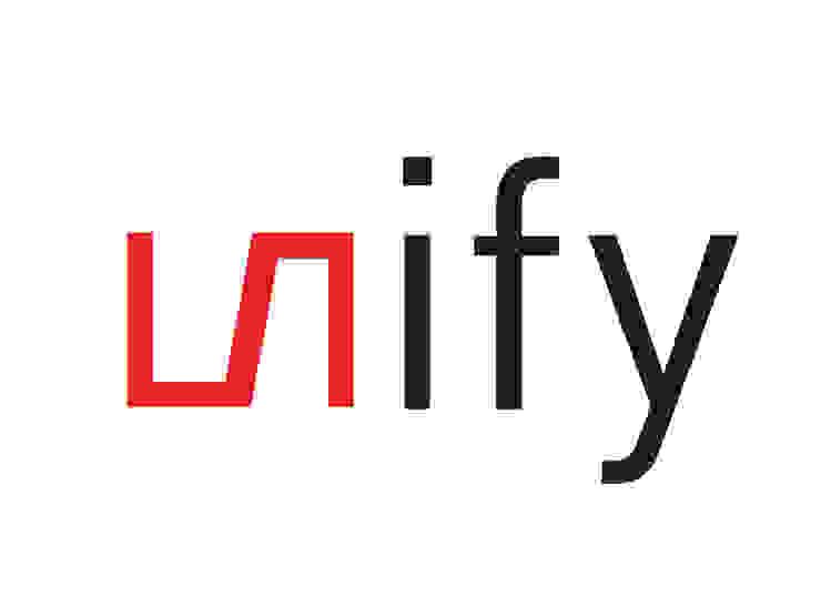 Unify Logo van un'dercast Minimalistisch