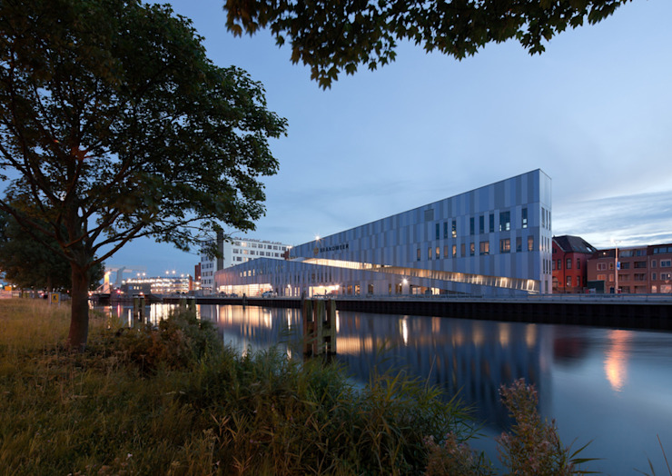 NBHW: modern  door Liag Architecten en Bouwadviseurs, Modern