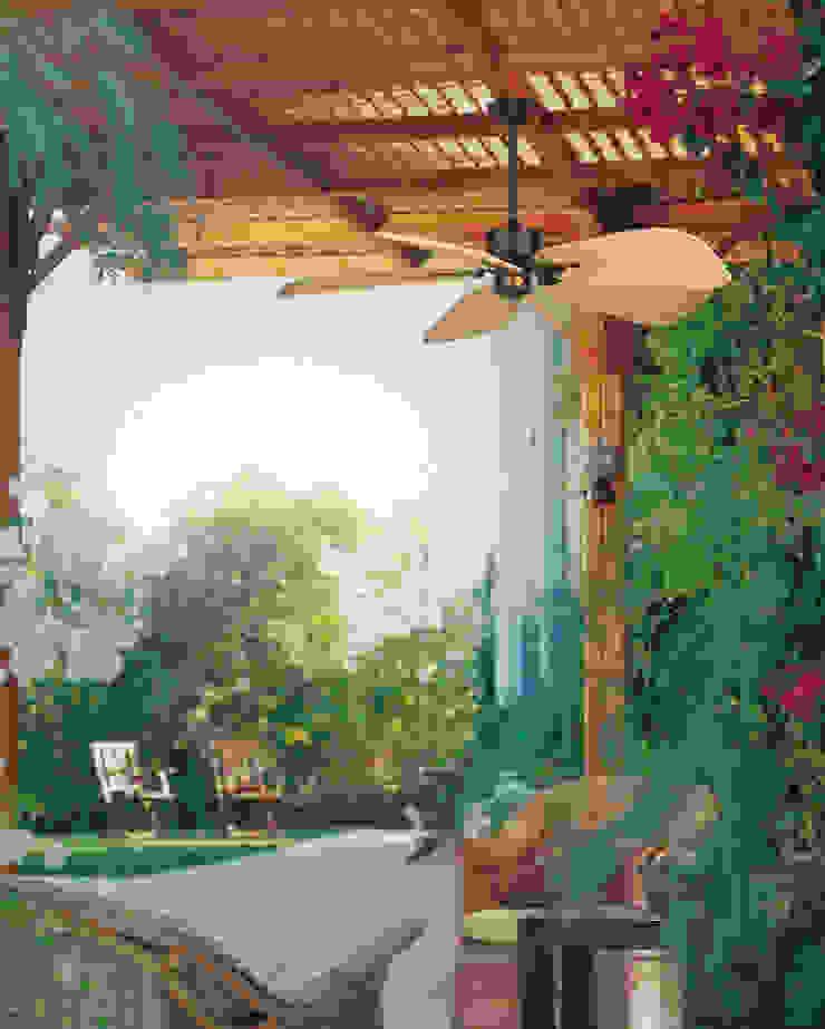 CASA BRUNO Islander ventilador de techo, marrón óxido, ISD7C:  de estilo tropical de Casa Bruno American Home Decor, Tropical