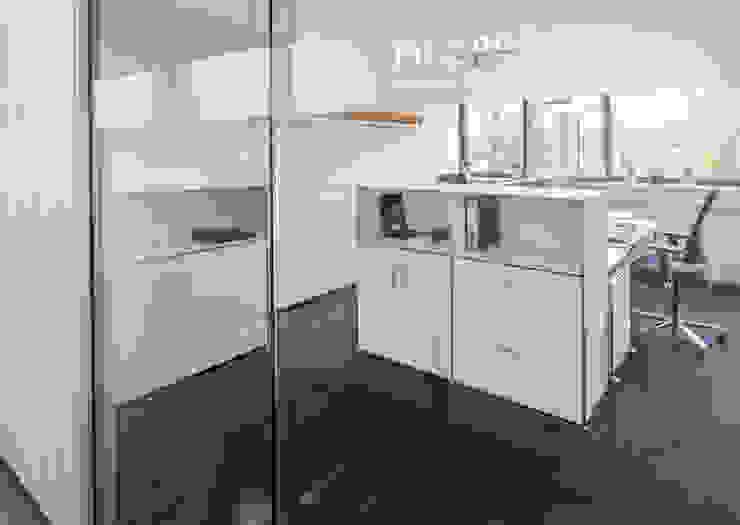 Büro mit Doppelarbeitsplatz Klassische Bürogebäude von PFERSICH Büroeinrichtungen GmbH Klassisch