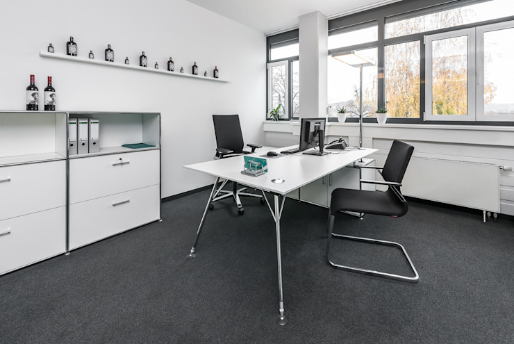Chefzimmer Klassische Bürogebäude von PFERSICH Büroeinrichtungen GmbH Klassisch