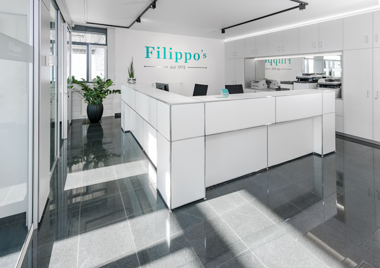Empfang Klassische Bürogebäude von PFERSICH Büroeinrichtungen GmbH Klassisch