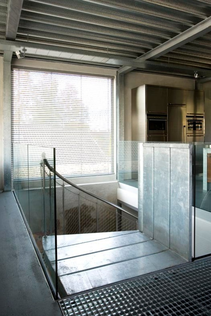 Huis Cats Moderne gangen, hallen & trappenhuizen van Archipelontwerpers Modern