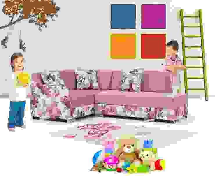 iBRDESIGN – Çocuk odası köşe koltuk: modern tarz , Modern