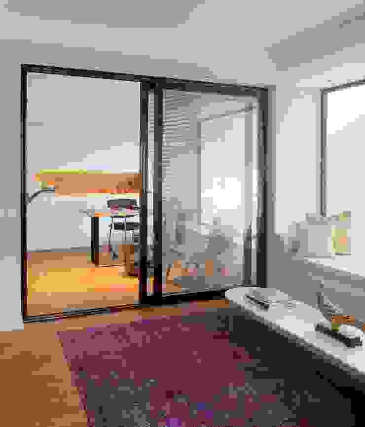 HANDE KOKSAL INTERIORS Modern Windows and Doors
