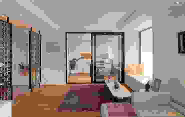Puertas y ventanas de estilo moderno de HANDE KOKSAL INTERIORS Moderno