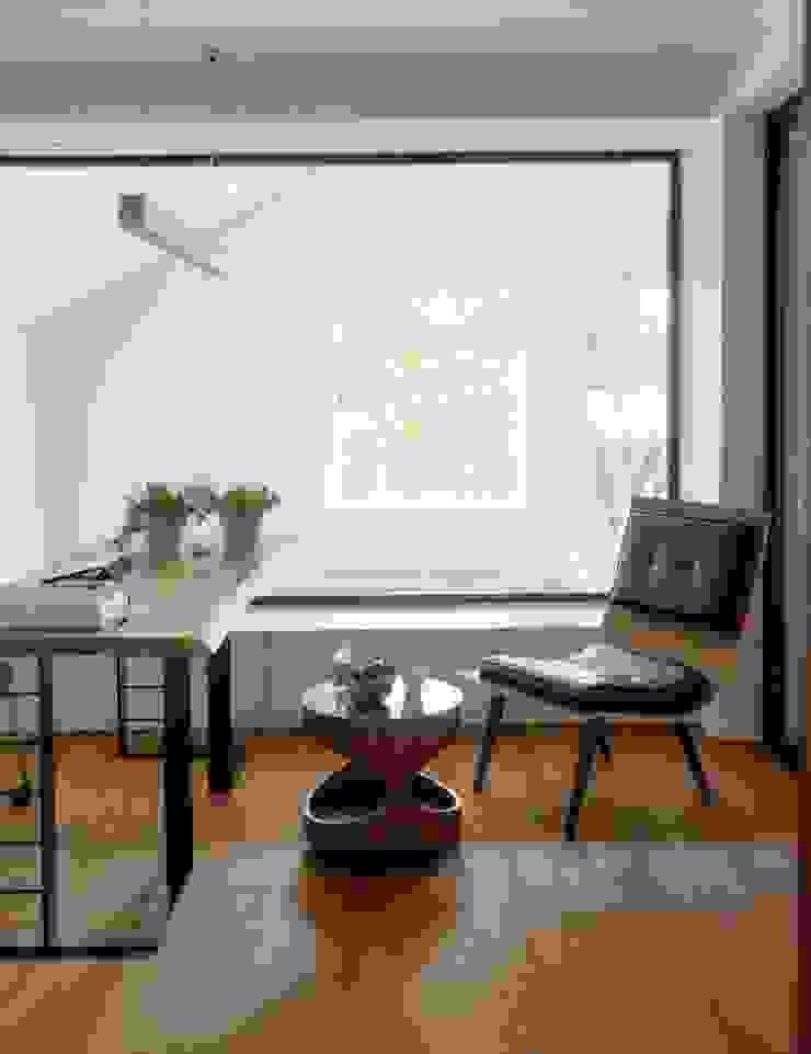 HANDE KOKSAL INTERIORS Modern Study Room and Home Office