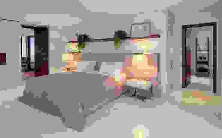 House E - E Evi Modern Yatak Odası HANDE KOKSAL INTERIORS Modern