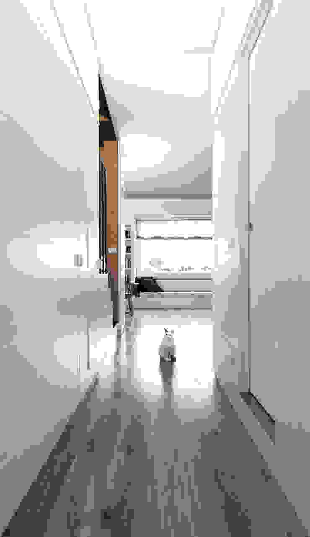 sistema armadiature, Giulia Ingresso, Corridoio & Scale in stile eclettico di Plastudio Eclettico