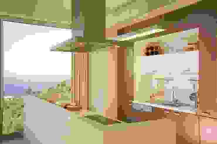 Modern style kitchen by HANDE KOKSAL INTERIORS Modern