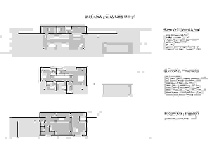 現代房屋設計點子、靈感 & 圖片 根據 HANDE KOKSAL INTERIORS 現代風