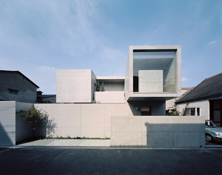 House of Kami Modern houses by atelier m Modern Reinforced concrete