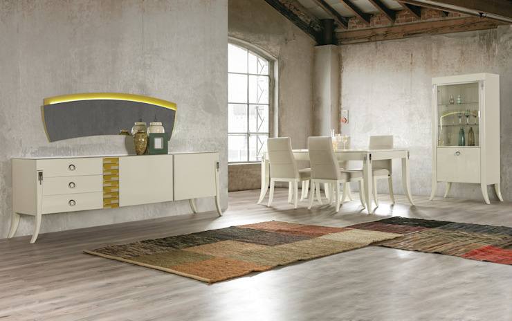 NILL'S FURNITURE DESIGN – VOGUE DINING ROOM: modern tarz , Modern