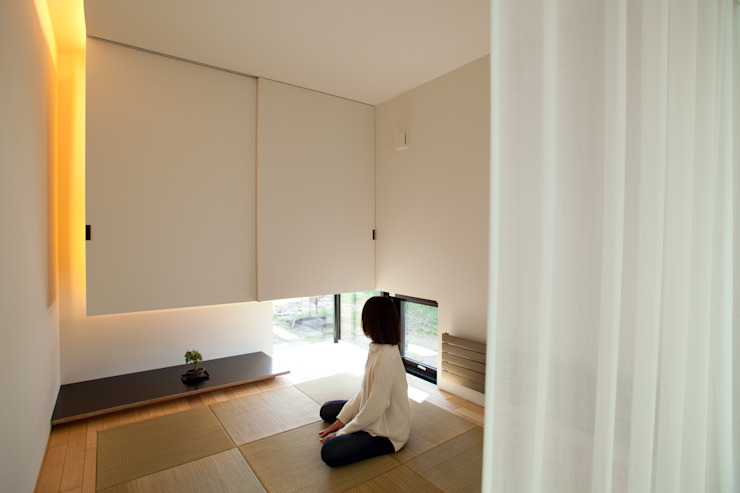 Asian style media rooms by 一級建築士事務所 Atelier Casa Asian