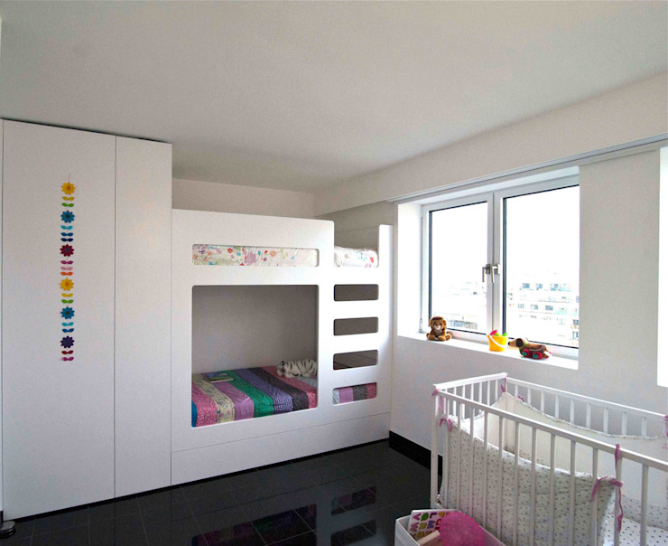 Nursery/kid's room by Architekturbüro Rollmann&Partner,