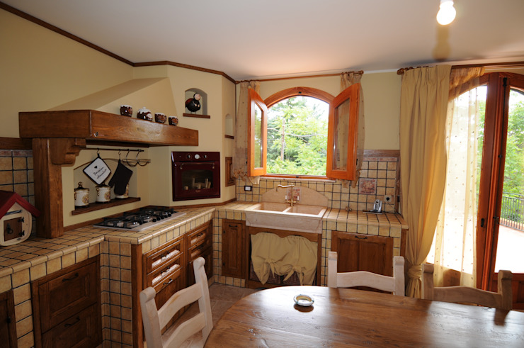 Cucine e design di raimondi Rustico