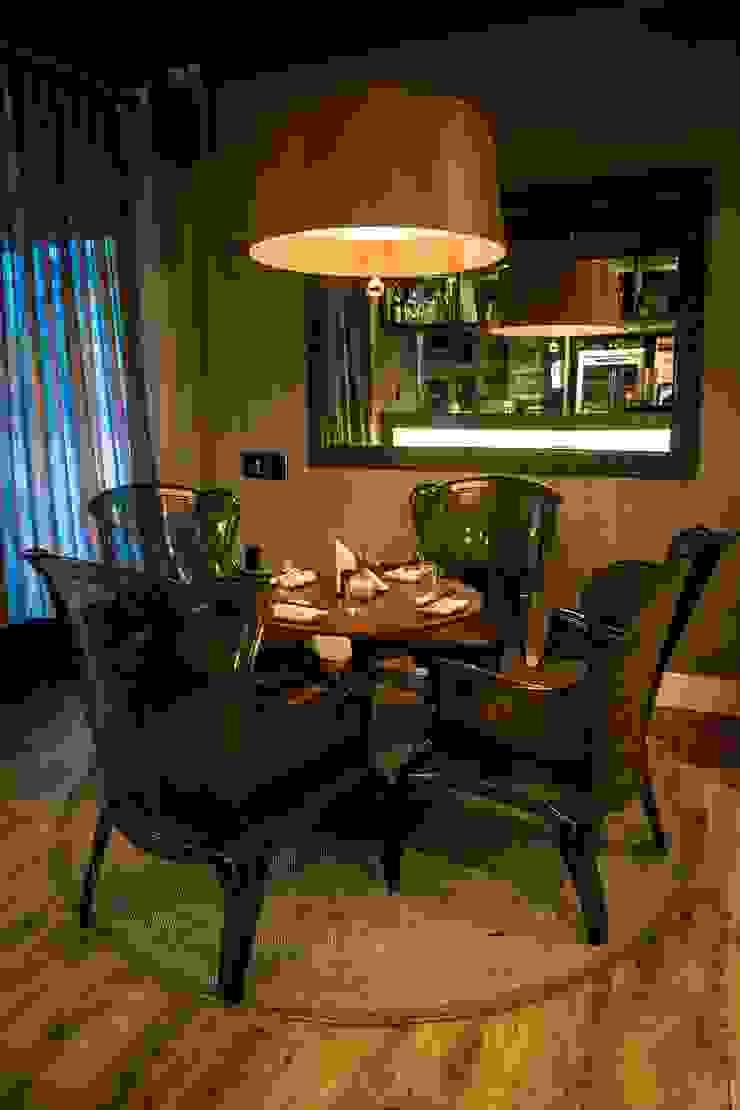 Lounge de Entrada Espaços gastronômicos industriais por Gabriela Herde Arquitetura & Design Industrial