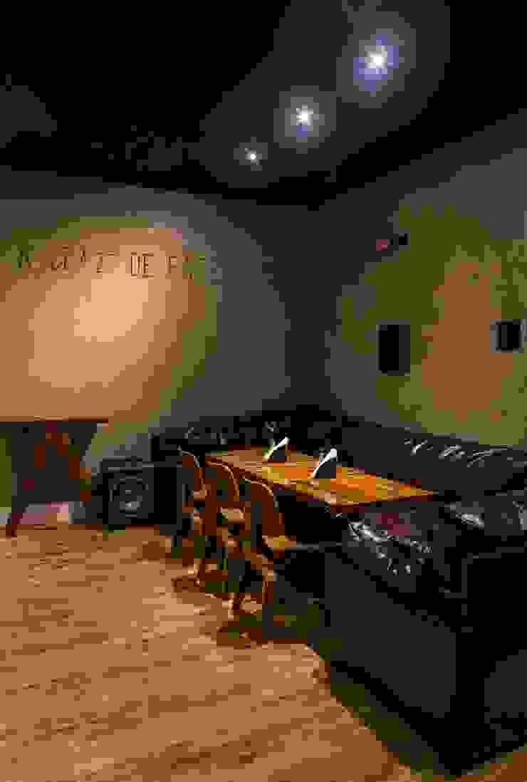 Lounge do Bar Espaços gastronômicos industriais por Gabriela Herde Arquitetura & Design Industrial
