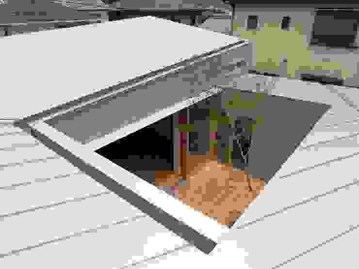 Terrasse de style  par 諸江一紀建築設計事務所