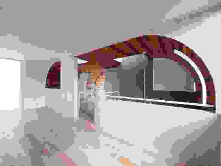こども部屋 の イシウエヨシヒロ建築設計事務所 YIA モダン 木 木目調