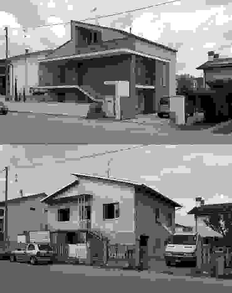 Prima e dopo Case moderne di Lorenzo Spinazzi Architetto Moderno