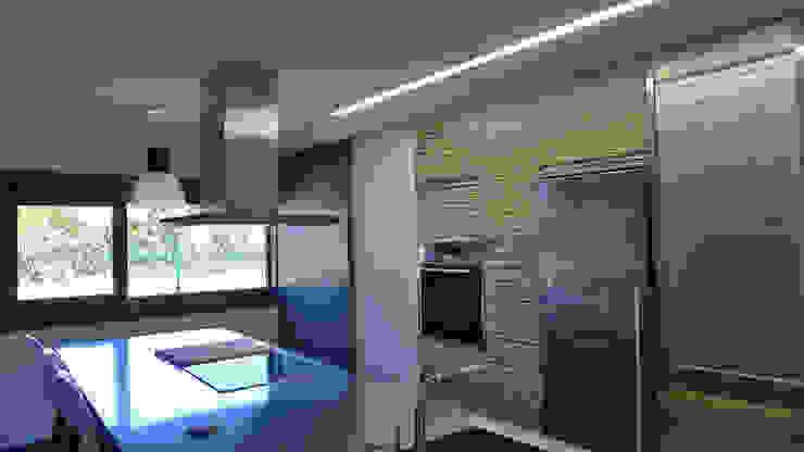 Vivienda en Pravio de AD+ arquitectura Moderno Aluminio/Cinc
