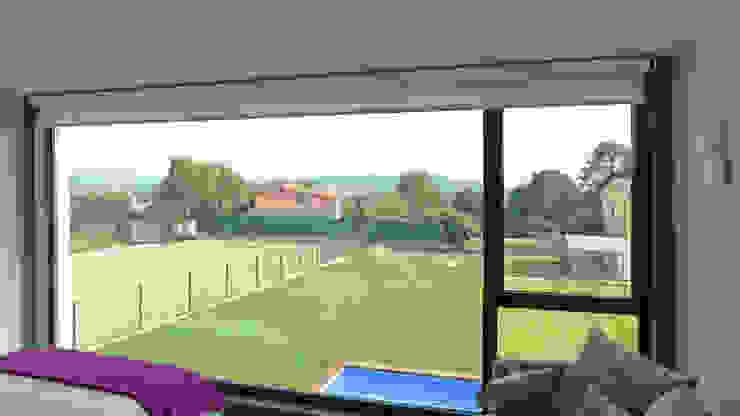 Vivienda en Pravio Dormitorios de estilo moderno de AD+ arquitectura Moderno Vidrio