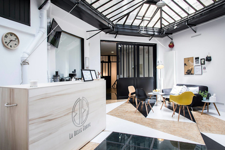 Eclectic style gym by Spray architecture Eclectic