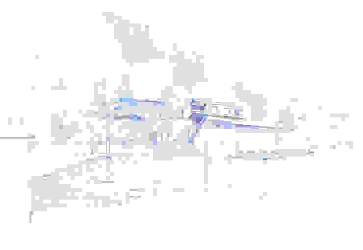CASA SUL LAGO Case moderne di EMMANUELLO | ARCHITETTURA | DESIGN Moderno