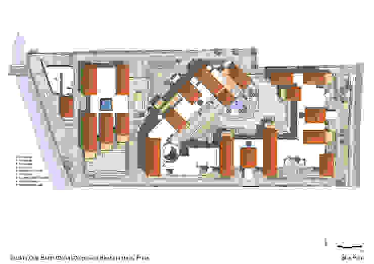 Site Plan: modern  by Christopher Charles Benninger Architects Pvt. Ltd.,Modern