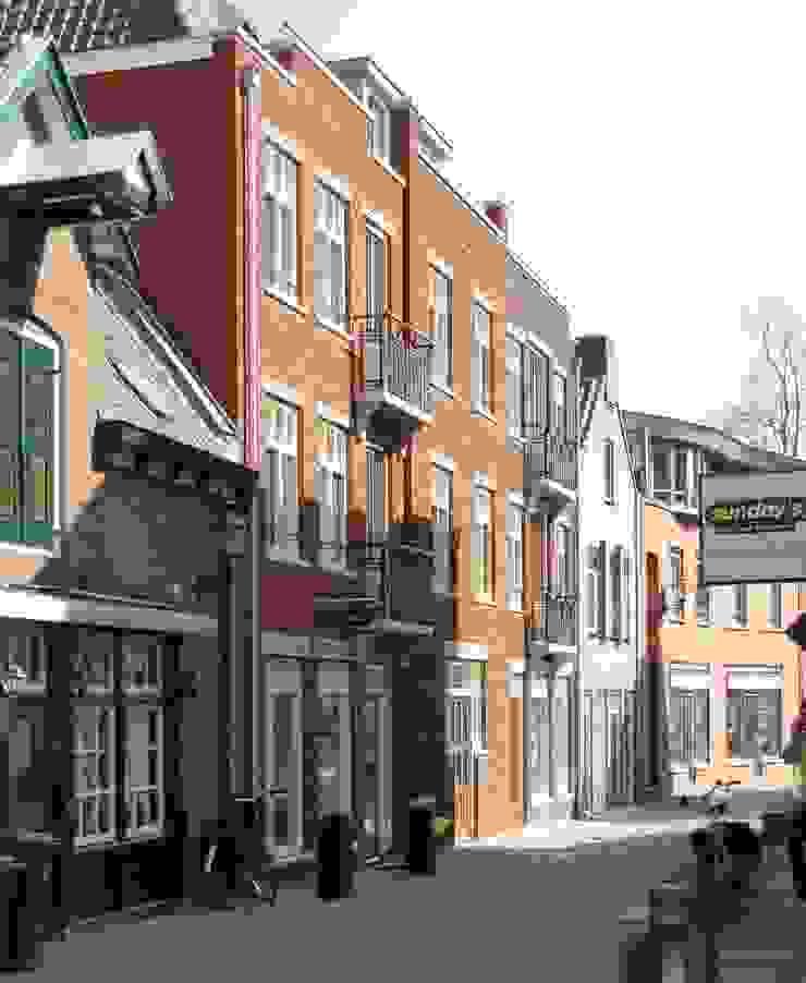 Amersfoort, stadsinvulling Koestraat van Architectenbureau Van Löben Sels