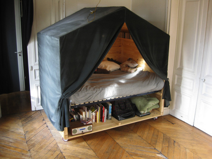 Minimalistische slaapkamers van Jean-Benoît Vétillard Minimalistisch