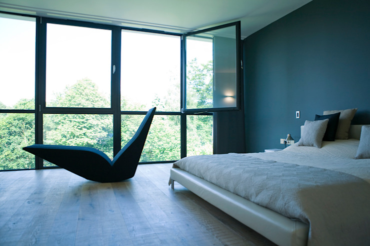 Hill House Modern style bedroom by Lipton Plant Architects Modern