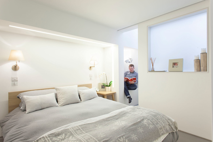 Peekaboo House Modern style bedroom by Lipton Plant Architects Modern