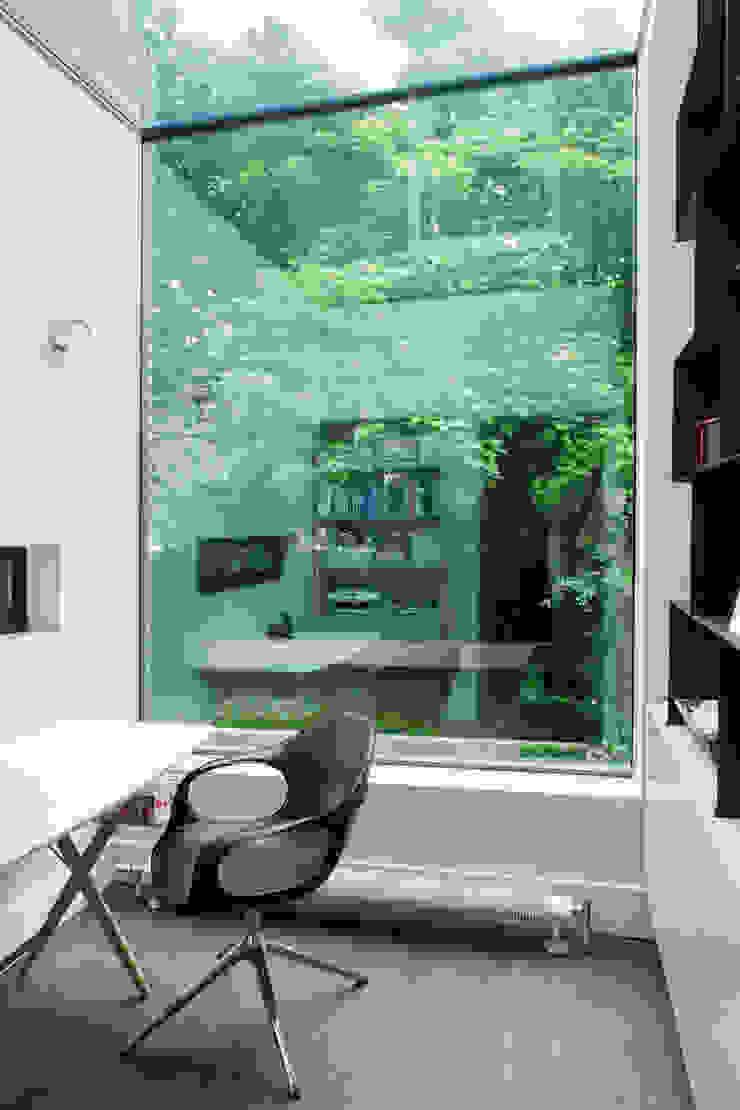 A Brick and a Half house Minimalist Çalışma Odası Lipton Plant Architects Minimalist