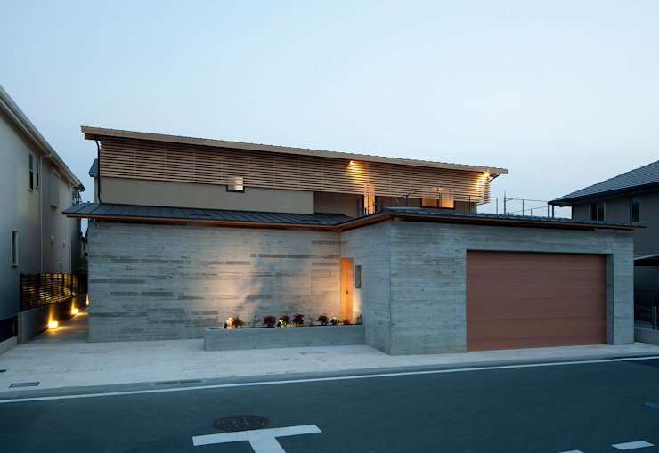 Casas de estilo  por 一級建築士事務所 Kenso Architects, Clásico