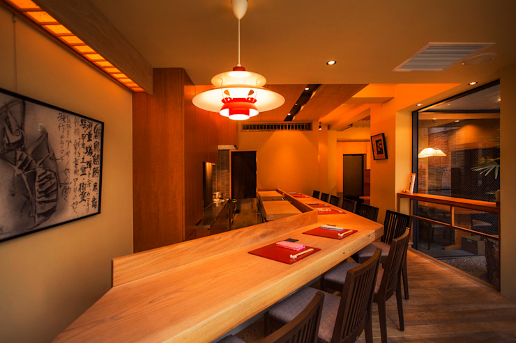 日本料理_W オリジナルな 壁&床 の arbor オリジナル