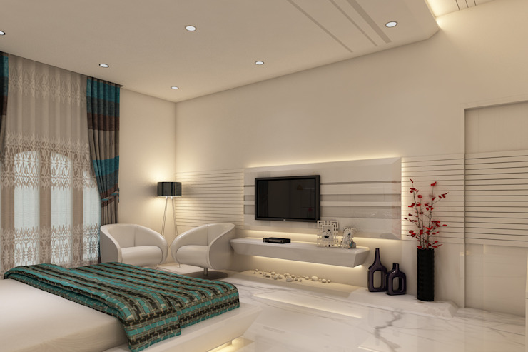 9 Interesting Ideas To Place Tv In Your Bedroom Homify Homify