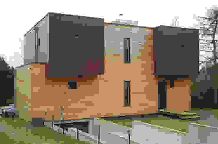 façade nord Maisons modernes par Atelier d'Architecture Marc Lafagne, architecte dplg Moderne