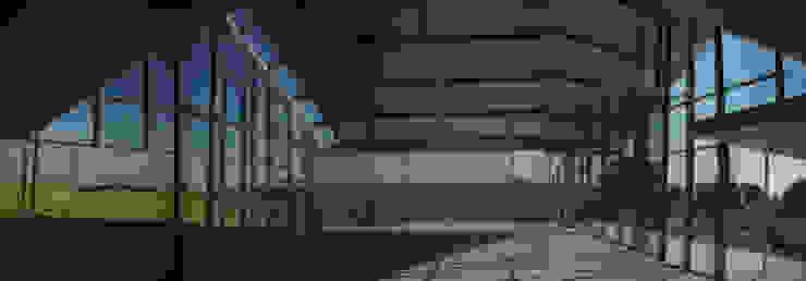interior vacío Jardines de invierno de estilo industrial de Ph4 Arquitectos Industrial
