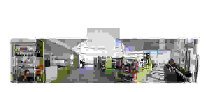 interior ocupado Jardines de invierno de estilo industrial de Ph4 Arquitectos Industrial