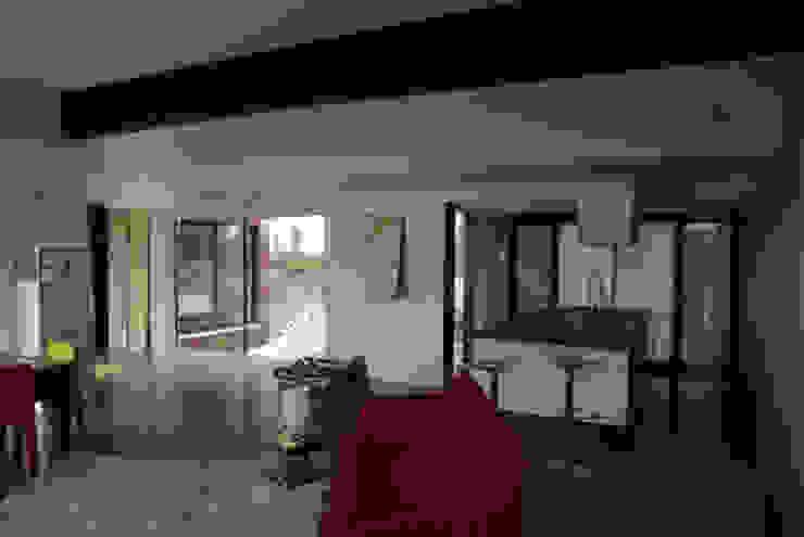 Дома в стиле модерн от Atelier d'Architecture Marc Lafagne, architecte dplg Модерн